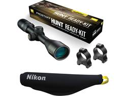 Nikon PROSTAFF Hunt Ready Kit PROSTAFF Rifle Scope 3-9x 40mm Nikoplex Reticle, A-Series Mount and...