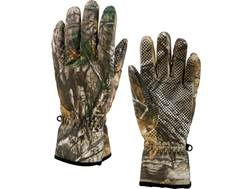 MidwayUSA Men's Prairie Creek Softshell Gloves Realtree Xtra Camo Large