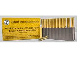 Jamison Ammunition 38-55 WCF 255 Grain Round Nose Flat Point Box of 20