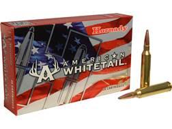 Hornady American Whitetail Ammunition 7mm Remington Magnum 154 Grain Interlock Spire Point Box of 20