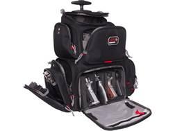 G.P.S. Rolling Handgunner Backpack Range Bag Nylon Black