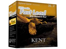 "Kent Cartridge Ultimate Fast Lead Diamond Shot Upland Ammunition 20 Gauge 3"" 1-1/4 oz #5 Shot"