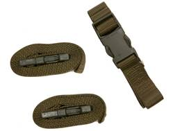 """Military Surplus Swiss Quick Release Strap Grade 2 1"""" x 59"""" Olive Drab Pack of 3"""
