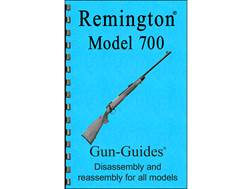 "Gun Guides Takedown Guide ""Remington Model 700 Rifle"""