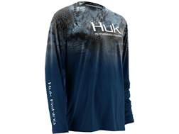 Huk Men's Kryptek Fade Icon Shirt Long Sleeve Polyester