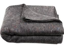 "Military Surplus Bulgarian Wool Blanket Grade 2 Gray 80"" x 62"""