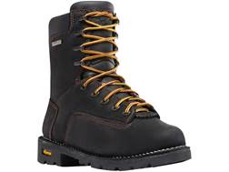 "Danner Gritstone 8"" Waterproof Work Boots Leather Black Men's 11 D"