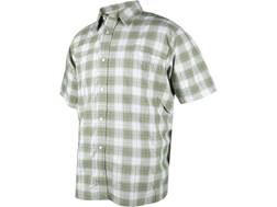Tru-Spec Men's 24-7 Plaid Camp Shirt Short Sleeve Nylon/Polyester