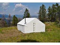 "Montana Canvas 10' x 14' Wall Tent with 5"" Stove Jack"