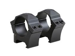 Sig Sauer Alpha Hunting Weaver-Style Rings Black
