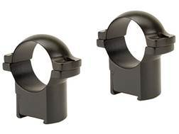 "Leupold 1"" Ring Mounts CZ 527 Matte Medium"