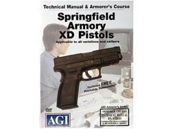 "American Gunsmithing Institute (AGI) Technical Manual & Armorer's Course Video ""Springfield Armor..."