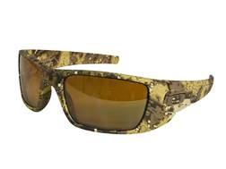 Oakley SI Fuel Cell Sunglasses Desolve Bare Camo/Prizm Tungsten Lens
