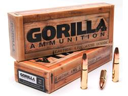Gorilla Ammunition 300 AAC Blackout 110 Grain Varminter Hollow Point