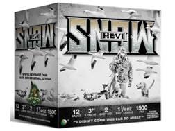 "Hevishot Hevi-Snow Waterfowl Ammunition 12 Gauge 3"" 1-1/4 oz #2 Non-Toxic Shot"