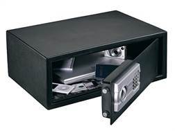 """Stack-On """"Strong Box Safe"""" Computer Electronic Lock Charcoal Gray"""