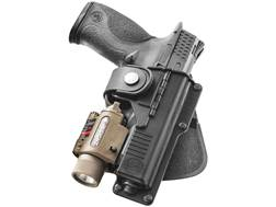 Fobus Tactical Paddle Holster Right Hand Glock 19, 23, 32 with Laser or Light Required Polymer Black
