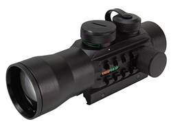 TRUGLO Xtreme Red Dot Sight 42mm 2x Red and Green 4-Pattern Reticle (10 MOA Dot, Crosshair with 1...