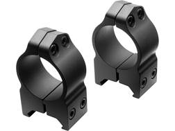 "Nikon S-Series 1"" Weaver-Style Rings Matte High Steel"