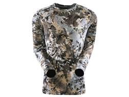 Sitka Gear Men's Core Crew Shirt Long Sleeve Merino Wool Gore Optifade Elevated II Camo Small