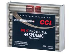 CCI Big 4 Shotshell Ammunition 44 Special 110 Grains #4 Shot Box of 10