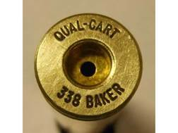 Quality Cartridge Reloading Brass 338 Baker Box of 20
