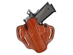 DeSantis Speed Scabbard Belt Holster Left Hand Ruger American 45 ACP Leather Tan
