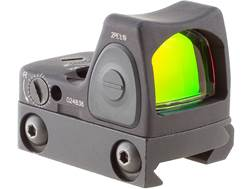 Trijicon RMR Type 2 Reflex Red Dot Sight Adjustable LED 1 MOA Red Dot Matte with RM33 Mount