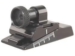 Williams WGRS-M/L Guide Receiver Peep Sight Octagon Barrels Flat Base Aluminum Black