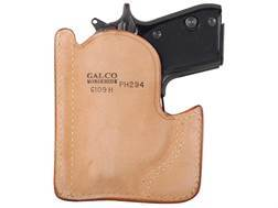 Galco Front Pocket Holster Ambidextrous Beretta Tomcat Horsehide Leather Tan
