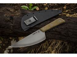"""TOPS Knives FMS Frog Market Special XL Fixed Blade Knife 7.5"""" Clip Point 1095 High Carbon Alloy B..."""