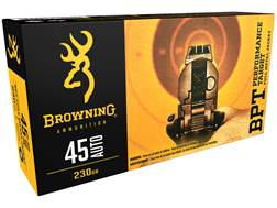 Browning BPT Ammunition 45 ACP 230 Grain Full Metal Jacket