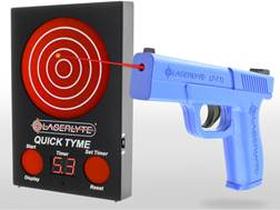 LaserLyte Quick Tyme Kit with Trigger Tyme Laser Trainer Pistol and Quick Tyme Target