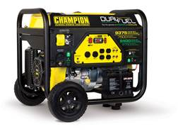 Champion 7500/9375 6750/8400 Watt Dual Fuel Generator