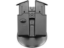 Fobus Evolution Roto-Paddle Double Magazine Pouch Ambidextrous Single-Stack 1911 45 ACP Polymer B...
