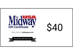 MidwayUSA $40 Gift Certificate