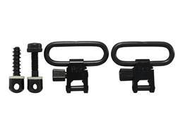 Uncle Mike's Quick Detachable Machine Screw Type Sling Swivel Set Plated
