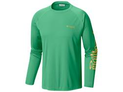 Columbia Men's PFG Terminal Tackle Shirt Long Sleeve Polyester