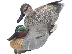 Final Approach Gunner HD Green Wing Teal Duck Decoy Pack of 6
