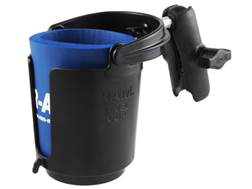 RAM Mounts Cup Holder with Arm Polymer Black
