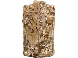 Kryptek Men's Vellus Insulated Fleece Vest Polyester Highlander Camo