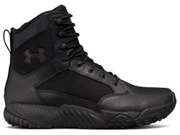 """Under Armour UA Stellar 8"""" Side Zip Tactical Boots Leather and Nylon"""