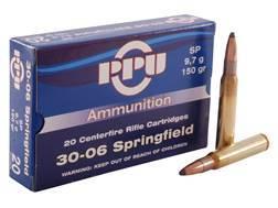 Prvi Partizan Ammunition 30-06 Springfield 150 Grain Soft Point Box of 20