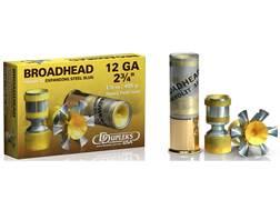 """DDupleks Broadhead Hexolit 32 Ammunition 12 Gauge 2-3/4"""" 1-1/8 oz Expanding Steel Slug Lead-Free ..."""