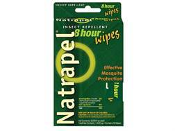 Natrapel Deet Free Insect Repellent Wipes Pack of 12