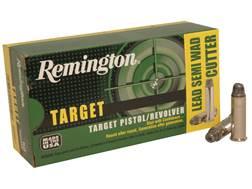 Remington Target Ammunition 357 Magnum 158 Grain Lead Semi-Wadcutter Box of 50