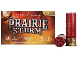 "Federal Premium Prairie Storm Ammunition 12 Gauge 3"" 1-1/4 oz #5 Plated Shot Box of 25"