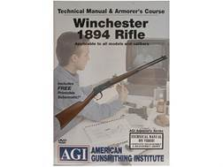 "American Gunsmithing Institute (AGI) Technical Manual & Armorer's Course Video ""Winchester 1894 R..."
