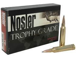 Nosler Trophy Grade Ammunition 7mm Remington Magnum 168 Grain AccuBond Long Range Box of 20