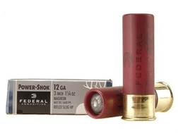 "Federal Power-Shok Ammunition 12 Gauge 3"" 1-1/4 oz Hollow Point Rifled Slug Case of 250 (50 Boxes..."